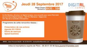 Pitch Café La Mêlée Montpellier