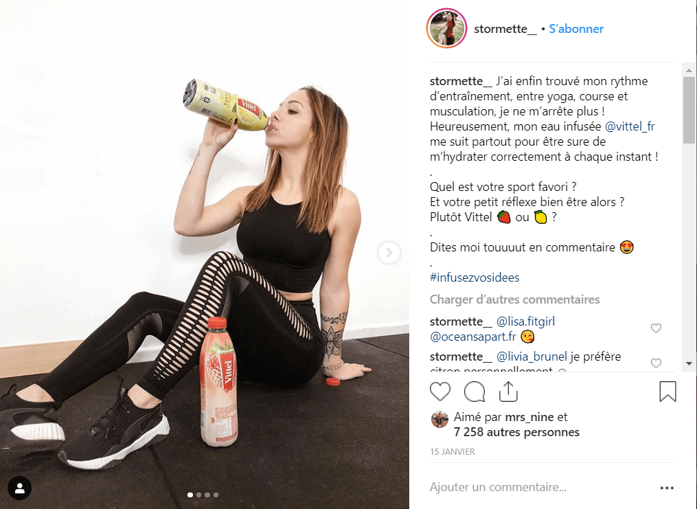 Instagram outil de marketing d'influence