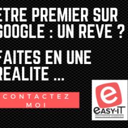 Vous souhaitez etre premier sur Google ?