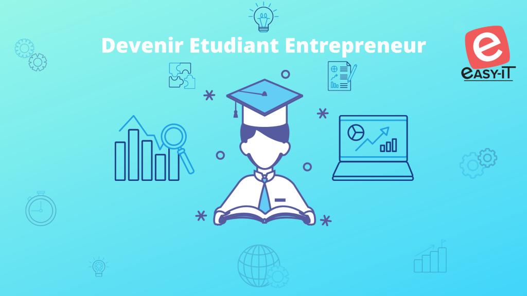Illustration comment devenir étudiant entrepreneur avec PEPITE